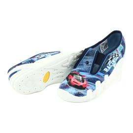 Befado obuwie dziecięce 290Y208 niebieskie wielokolorowe 4