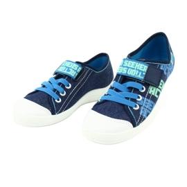 Befado obuwie dziecięce 251Y139 granatowe niebieskie wielokolorowe 3