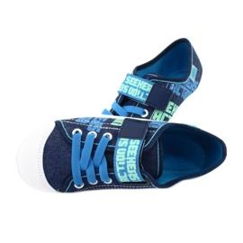Befado obuwie dziecięce 251Y139 granatowe niebieskie wielokolorowe 5