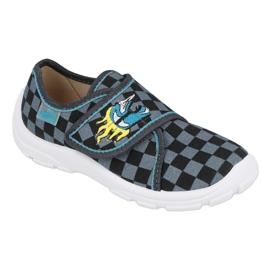 Befado obuwie dziecięce  974X411 czarne szare 1