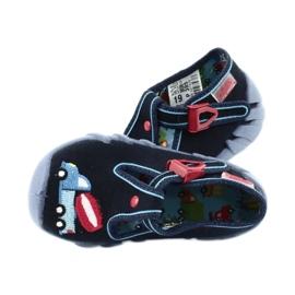 Befado obuwie dziecięce 110P385 granatowe niebieskie 5