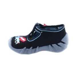 Befado obuwie dziecięce 110P385 granatowe niebieskie 2