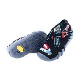 Befado obuwie dziecięce 110P385 granatowe niebieskie 4