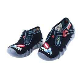 Befado obuwie dziecięce 110P385 granatowe niebieskie 3