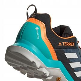 Buty adidas Terrex AX3 Gtx M FV6850 czarne pomarańczowe różowe szare 2