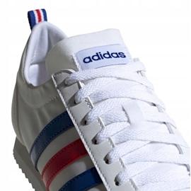 Buty adidas Vs Jog M FX0094 białe czerwone niebieskie 2