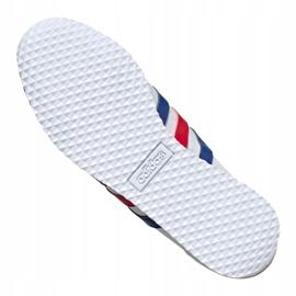 Buty adidas Vs Jog M FX0094 białe czerwone niebieskie 5