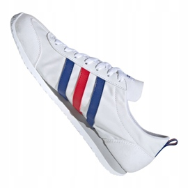 Buty adidas Vs Jog M FX0094 białe czerwone niebieskie 6