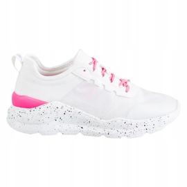 Kylie Klasyczne Obuwie Sportowe białe różowe 9