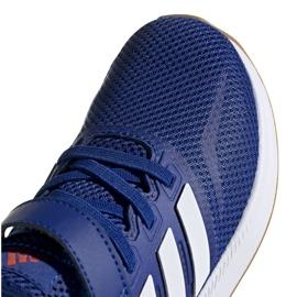 Buty adidas Runfalcon C Jr FW5139 niebieskie 3