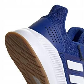 Buty adidas Runfalcon C Jr FW5139 niebieskie 4