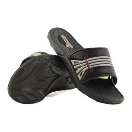 Klapki buty dziecięce na basen Rider 80341 czarne 3