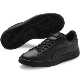 Buty Puma Smash v2 L Jr 365170 01 czarne 3
