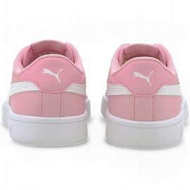 Buty Puma Smash v2 L Jr 365170 24 czarne różowe 4