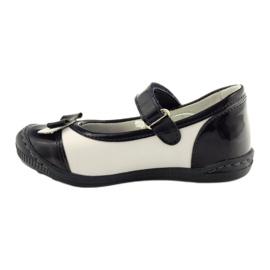 Balerinki buty dziecięce Ren But 1405 granatowe 2