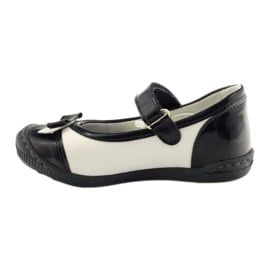 Balerinki buty dziecięce Ren But 1405 granatowe białe wielokolorowe 2