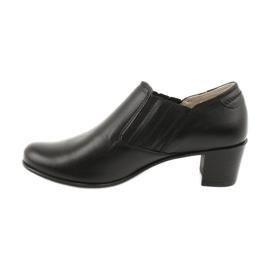Buty damskie wsuwane Gregors 789 czarne 1