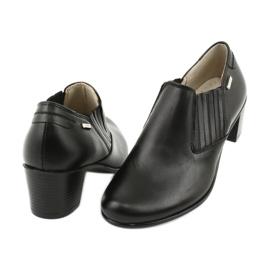 Buty damskie wsuwane Gregors 789 czarne 3