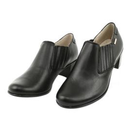 Buty damskie wsuwane Gregors 789 czarne 2