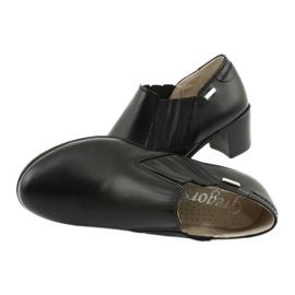 Buty damskie wsuwane Gregors 789 czarne 4