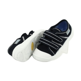 Befado obuwie dziecięce  907P118 granatowe 4