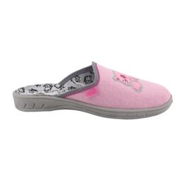 Befado kolorowe obuwie dziecięce 707Y409 różowe 6