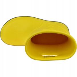 Kalosze Crocs Crocband Rain Boot Kids 205827-734 czerwone żółte 2
