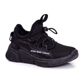 ABCKIDS POLAND Sp. z o.o. Sportowe Buty Dziecięce Młodzieżowe Czarne Abckids B012210073 6