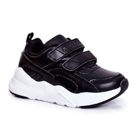 ABCKIDS POLAND Sp. z o.o. Sportowe Buty Dziecięce Młodzieżowe Czarne Abckids B013310212 5
