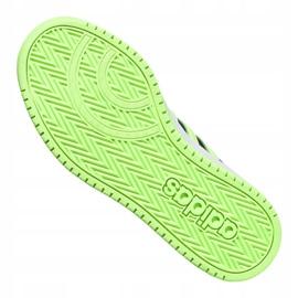 Buty adidas Hoops 2.0 Jr FW3171 czarne granatowe zielone 4