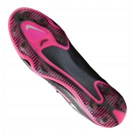Buty piłkarskie Nike Phantom Gt Elite Fg M CK8439-006 czarne wielokolorowe 4