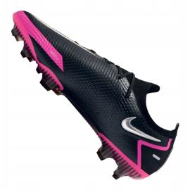Buty piłkarskie Nike Phantom Gt Elite Fg M CK8439-006 czarne wielokolorowe 5