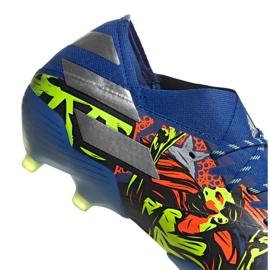 Buty piłkarskie adidas Nemeziz Messi 19.1 Fg M EH0557 wielokolorowe wielokolorowe 2