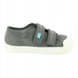 Befado obuwie dziecięce 440X014 szare 6