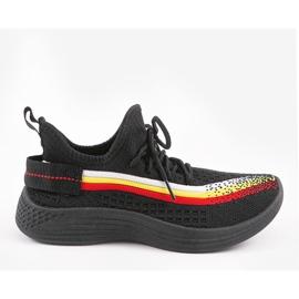Czarne obuwie sportowe HB-48 1