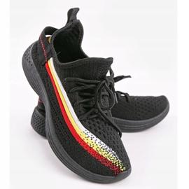 Czarne obuwie sportowe HB-48 4