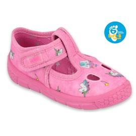 Befado  obuwie dziecięce 533P010 różowe 1