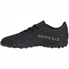 Buty piłkarskie adidas Nemeziz 19.4 Tf Jr EG3313 czarne wielokolorowe 2