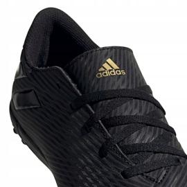 Buty piłkarskie adidas Nemeziz 19.4 Tf Jr EG3313 czarne wielokolorowe 3