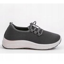 Szare wsuwane obuwie sportowe LR005-3 1