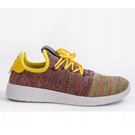 Wielokolorowe obuwie sportowe F04-3 1