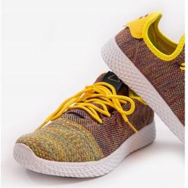 Wielokolorowe obuwie sportowe F04-3 2