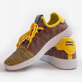 Wielokolorowe obuwie sportowe F04-3 3