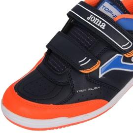 Buty piłkarskie Joma Top Flex In Jr TPJW.2053.IN czarne wielokolorowe 3