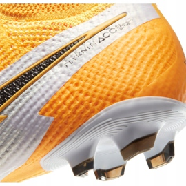 Buty piłkarskie Nike Superfly 7 Elite Fg Jr AT8034-801 żółte wielokolorowe 1