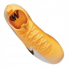 Buty piłkarskie Nike Superfly 7 Elite Fg Jr AT8034-801 żółte wielokolorowe 4