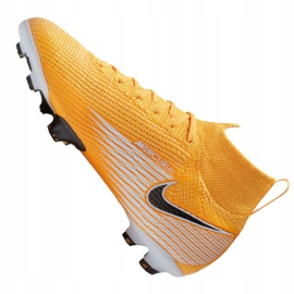 Buty piłkarskie Nike Superfly 7 Elite Fg Jr AT8034-801 żółte wielokolorowe 6