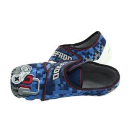 Befado obuwie dziecięce 273Y293 niebieskie 5