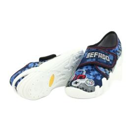 Befado obuwie dziecięce 273Y293 niebieskie 4