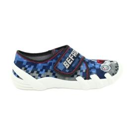 Befado obuwie dziecięce 273Y293 niebieskie 1